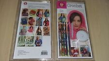 BNIB-Boye-Learn to Crochet-Complete Kit Containing 15 Pattern Book and Tools