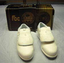Ladies Foot-Joy Golf Shoes New White 9M Green Joy