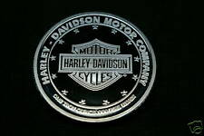 HARLEY DAVIDSON KNUCKLEHEAD 1 OZ. ROUND SILVER COIN BULLION
