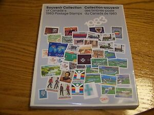 CANADA SOUVENIR COLLECTION STAMPS  YEAR 1983