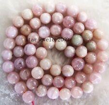 "beautiful 11mm Natural kunzite round loose Beads 16"""