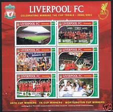 Grenada 2001 Liverpool Football Club SG4585/90 MNH