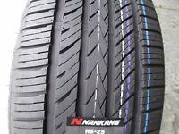 2 New 235/50R17 Inch Nankang NS-25 All-Season UHP Tires 50 17 R17 2355017 50R