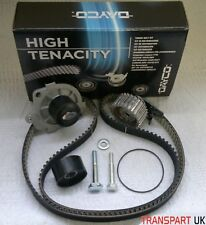VAUXHALL 1.9 CDTI 120BHP Z19DT 8V DAYCO TIMING BELT KIT WATER PUMP OEM LONG LIFE