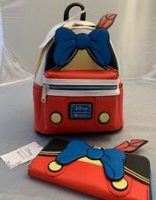 Loungefly Mini Pinocchio Backpack & Wallet