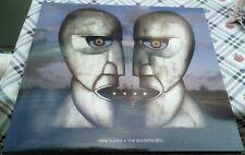 Pink Floyd The Division Bell  Unofficial 1994 Blue Half Transparent LP MINT