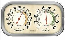 Springfield Comfort Monitor Indoor Temperature Thermometer Humidity Hygrometer
