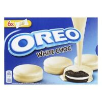 Oreo Biscuits White Chocolate Original Choco Cookies 246G