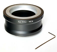 Quality M42 Lens to Sony NEX E Mount Adapter w/ tool (fits Sony E-mount cameras)