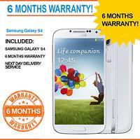 Samsung Galaxy S4 GT-I9505 -16 GB S 4- White Frost - Unlocked GT- I9500