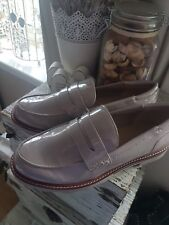 💖💜❤Marks And Spencer Nude Beige Loafers 7.5 New💖💜❤