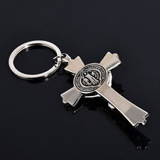 Metal Exquisite Key Ring Gift God Cross Keychain Keyfob Keyring Gift