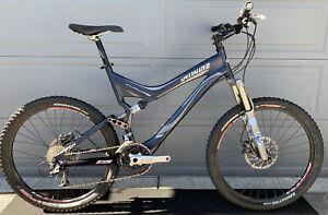 Specialized Stumpjumper M5 FSR Elite Mountain Bike XL Fox Shock XT Xtr Fox Shock