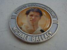 Pin Chip Münze MICHAEL BALLACK silberfarben Bayer 04 Leverkusen Bayern München