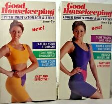 Lot of 2 Sealed 90's Workout Videos Upper & Lower Body Stomach Arms Thighs VHS