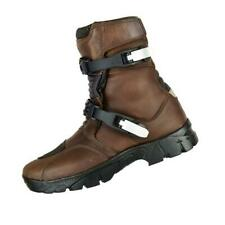 NEW Adventure genuine top grain Leather Waterproof Motorcycle Low Boots Sale