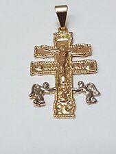 Cruz de Caravaca para proteccion Gold Filled instrucciones y oracion gratis !