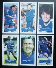 Lot of 6 CHELSEA Score UK football trade cards DORIGO WISE STANLEY +++ 6 of 66