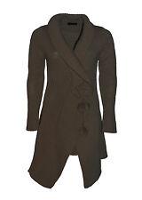 KJU:T By TAVIANI cardigan donna  lungo lavorazione a maglia taglio asimmetrico
