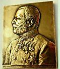 WW1  the First World War Austrian German Field Marshal medal plaque