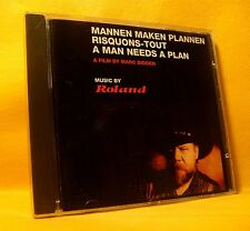 CD Roland A Man Needs A Plan (Film Soundtrack) 10TR 1993 Blues Folk Country Rock