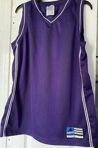 Men's ADIDAS athletic tank top sleeveless Purple shirt sz Lg running gym