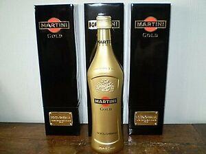 3 MARTINI GOLD DOLCE & GABBANA NEUVES EN COFFRET CADEAU NOIR