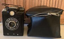 Vintage 1950's German Genos Rapid Camera w/Case