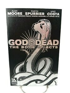 God is Dead Book of Acts Alpha Black Leather Cover Variant Dark Horse Comic Book