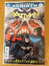 DC COMICS REBIRTH BATMAN #7 NIGHT OF THE MONSTER MEN PART 1  FIRST 1ST PRINTS