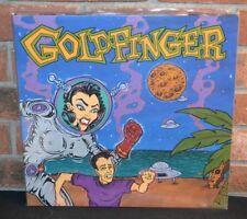 GOLDFINGER - Self Titled, Limited LAVENDER/BLUE SPLIT COLORED VINYL New!