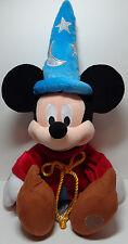 "Disney Store EXC Mickey Mouse Club Sorcerer Fantasia 24"" (60.96 CM) Plush Wizard"