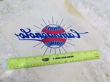 CAMPAGNOLO  LARGE IRON ON TRANSFER T SHIRT IRON ON DECAL ROAD  RARE VINTAGE