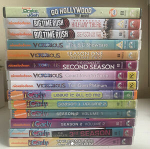 iCarly + Victorious + Drake And Josh DVDs Seasons Series Volume Nickelodeon