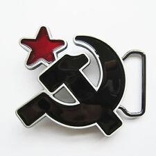 Soviet Hammer And Sickle Belt Buckle Gurtelschnalle Boucle de ceinture