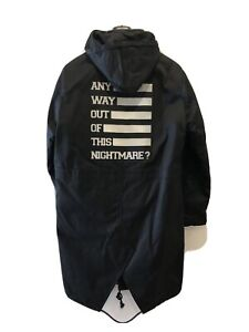 """Raf simons F/W 17 """"Any way out of this nightmare?"""" parka"""
