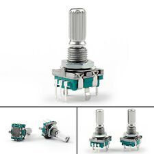 8PCS Rotary Encoder Con Switch EC11 Audio Digital Potenciómetro 20mm KQ Handle