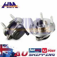 2 Front Wheel Bearing Hub Assembly for Holden Commodore VE Sedan Wagon Ute V6 V8