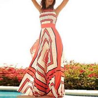 Women Summer Boho Long Maxi Evening Party Long Dress Beach Dresses Sundress Fr
