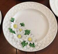Vintage Daisy Basket by Shafford salad plates Set Of 7