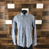 Ermenegildo Zegna Men's Size 3XL Plaid Long Sleeve Button Down Shirt