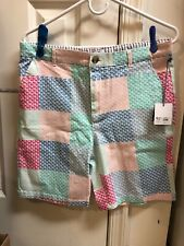 Vineyard Vines for Target Boys Youth Size 16 Patchwork Whale Shorts ~ NWT