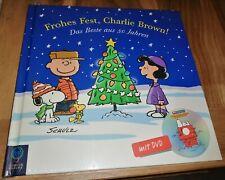 Geschenkidee! Frohes Fest, Charlie Brown! Das Beste aus 50 Jahren. Mit DVD Neu!