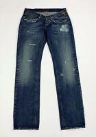 Meltin pot marion jeans donna usato gamba dritta W29 tg 43 denim boyfriend T6045