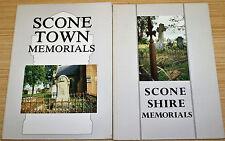 Scone Town Memorials Gravestone Inscriptions In Hunter Valley NSW - Vol 2 & 3