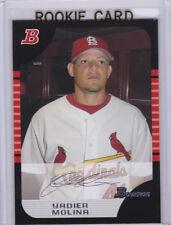 YADIER MOLINA St. Louis Cardinals DRAFT PICK ROOKIE CARD Bowman Baseball RC