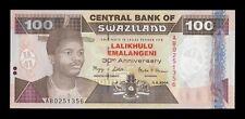 B-D-M Suazilandia Swaziland 100 Emalangeni Commemorative 2004 Pick 33 SC UNC