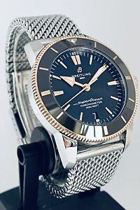Breitling Superocean Heritage 44 • FullSet • Warranty to Aug 2024 • UB2030 18kt