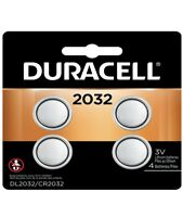 4 Pack Duracell CR2032 3 Volt Battery ECR2032 CR 2032 DL2032