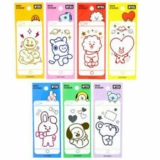 BTS BT21 Official by Line Friends Mobile Deco Sticker + Free gift